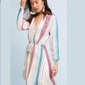 Rails Anthropologie Becca Dress Stripe Sz Large